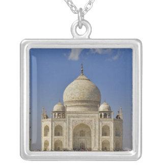 Taj Mahal mausoleum / Agra, India Square Pendant Necklace