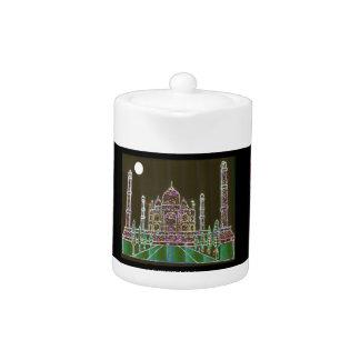 TAJ Mahal Mughal Architecture India Agra Heritage Teapot