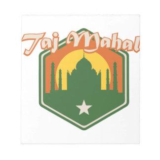 Taj Mahal Notepad