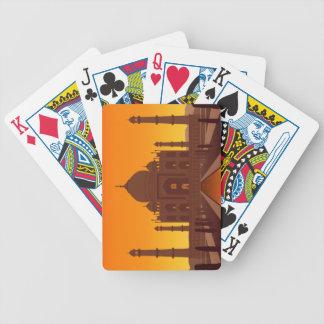 Taj Mahal Playing Cards Bicycle Playing Cards
