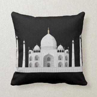 Taj Mahal Polyester Throw Pillow 2