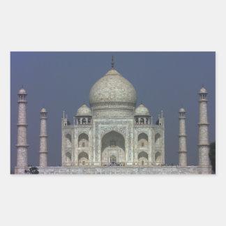 Taj Mahal Rectangular Sticker