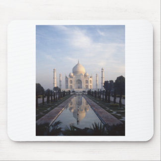 Taj Mahal Reflection in Agra Uttar Pradesh India Mousepads