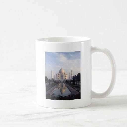 Taj Mahal Reflection in Agra, Uttar Pradesh, India Mug