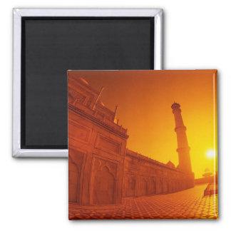 Taj Mahal Sunset Magnet