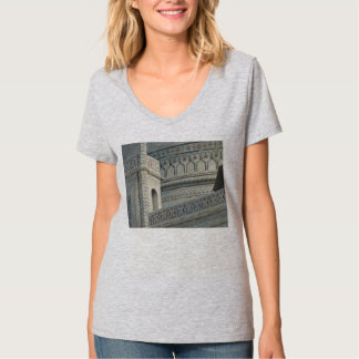 Taj Mahal T-shirt, Inlay Front, Distance Back T-Shirt