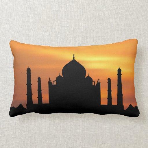 Taj Mahal Throw Pillows
