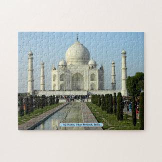 Taj Mahal, Uttar Pradesh, India Jigsaw Puzzles