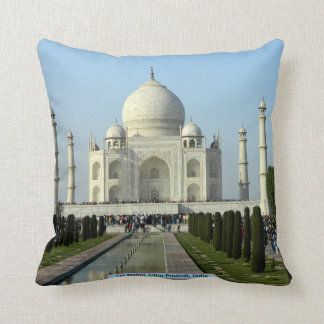 Taj Mahal, Uttar Pradesh, India Throw Pillow