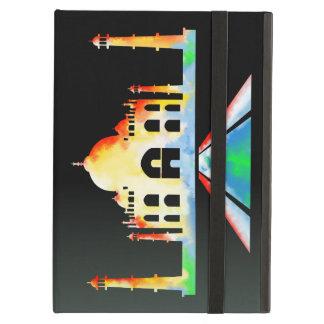 Taj Mahal Watercolor Cover For iPad Air