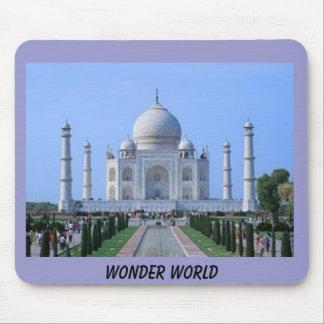 taj mahal WONDER WORLD Mouse Pad