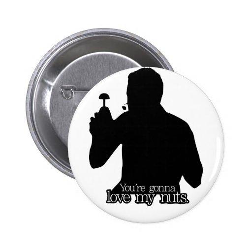 ¡Tajada de la palmada de Vince usted va a amar mis Pin Redondo 5 Cm