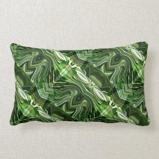 Tajadas exóticas del verde: OneOFaKIND colorido Almohadas