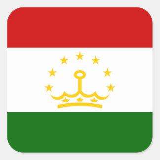 Tajik Flag Square Sticker
