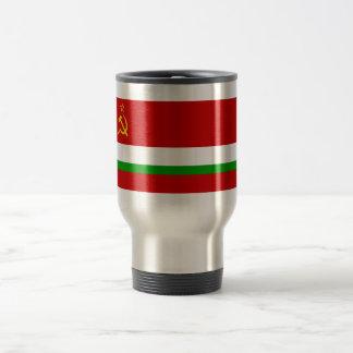 Tajik SSR Flag 15 Oz Stainless Steel Travel Mug