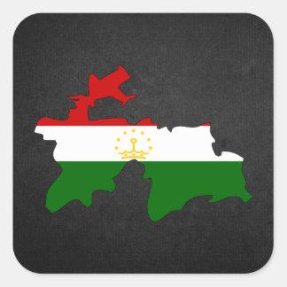Tajik Trip Souvenir Square Sticker