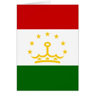 tajikistan card