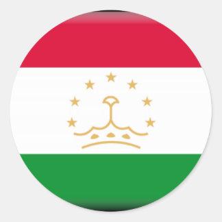 Tajikistan Classic Round Sticker