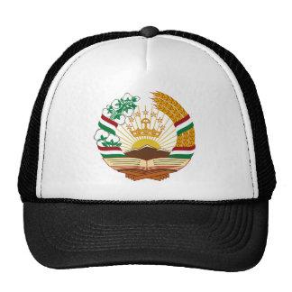 Tajikistan Coat of Arms Trucker Hat