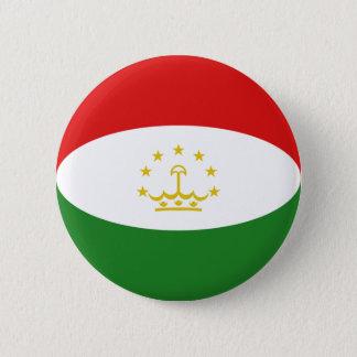 Tajikistan Fisheye Flag Button