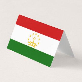 Tajikistan Flag Card