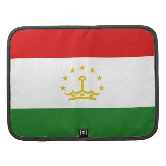 Tajikistan Flag Folio Organizer