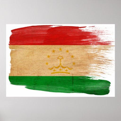 Tajikistan Flag Posters