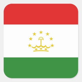 Tajikistan Flag Sticker