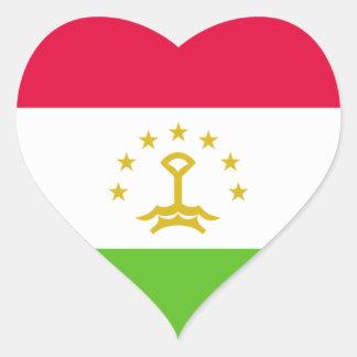 tajikistan heart sticker