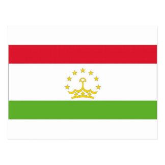 Tajikistan National Flag Postcard