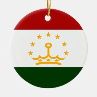 Tajikistan Christmas Ornament