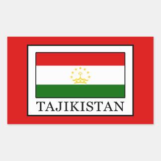 Tajikistan Rectangular Sticker