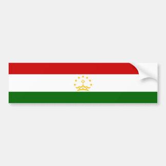 Tajikistan/Tajik/Tadzhik Flag Car Bumper Sticker