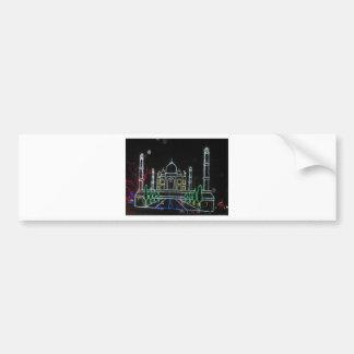 TajMahal Taj Mahal Mughal Architecture Car Bumper Sticker