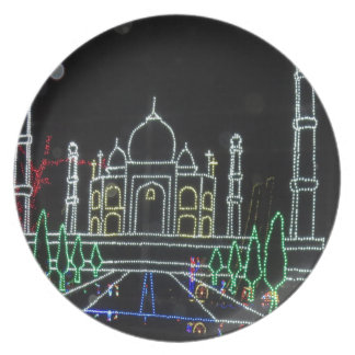 TajMahal Taj Mahal Mughal Architecture Plate