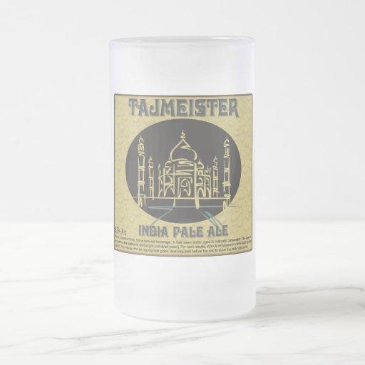 Tajmeister Cup/Mug Frosted Glass Beer Mug