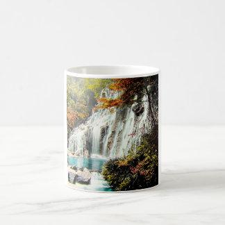 TAKAGI Glass Magic Lantern AMADARE WATERFALL Coffee Mug