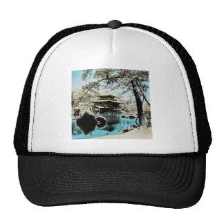 TAKAGI Glass Magic Lantern Slide KINKAKUJI GARDENS Trucker Hat