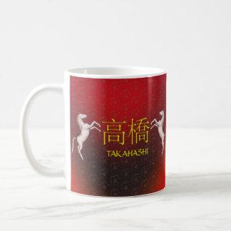 Takahashi Monogram Horse Coffee Mug