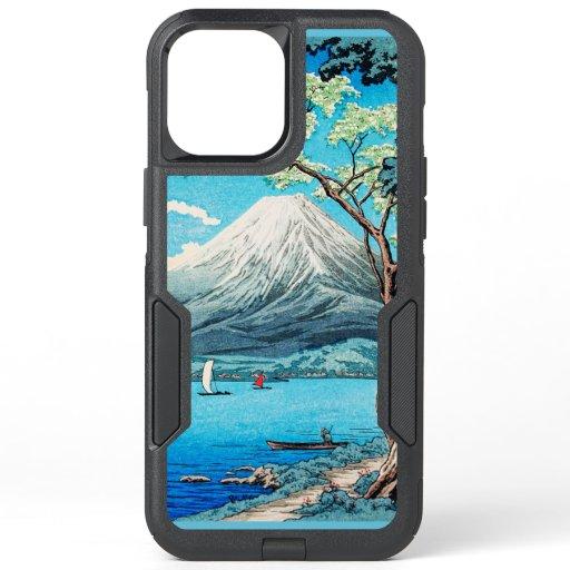 Takahashi - Mount Fuji from Lake Yamanaka OtterBox Commuter iPhone 12 Pro Max Case