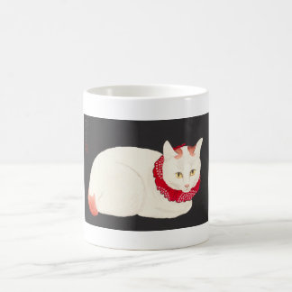 takahashi shotei tama nekko cat portrait ukiyo-e coffee mug