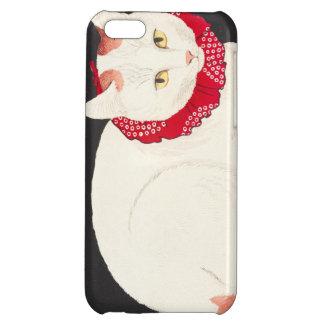takahashi shotei tama nekko cat portrait ukiyo-e iPhone 5C covers