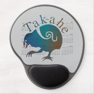 Takahe 2014 calendar mousepad gel mouse mat