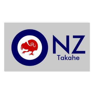 Takahe Air Force Roundel Business Card