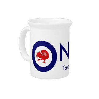 Takahe Air Force Roundel Drink Pitcher