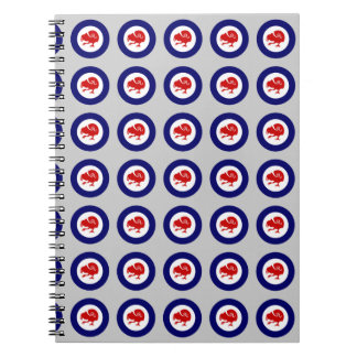 Takahe Air Force Roundel Notebook