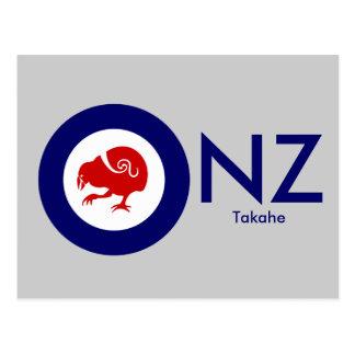 Takahe Air Force Roundel Postcard