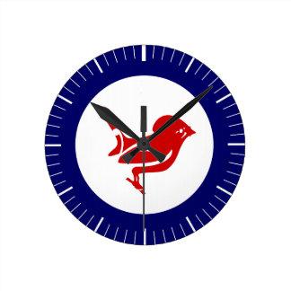 Takahe Air Force Roundel Round Clock