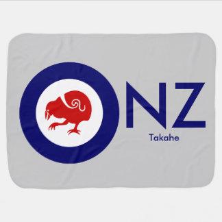 Takahe Air Force Roundel Swaddle Blanket
