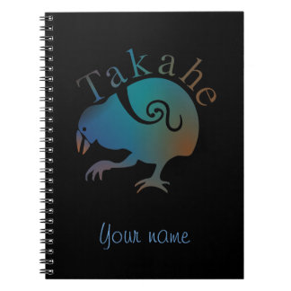 Takahe Flightless native New Zealand bird Notebook